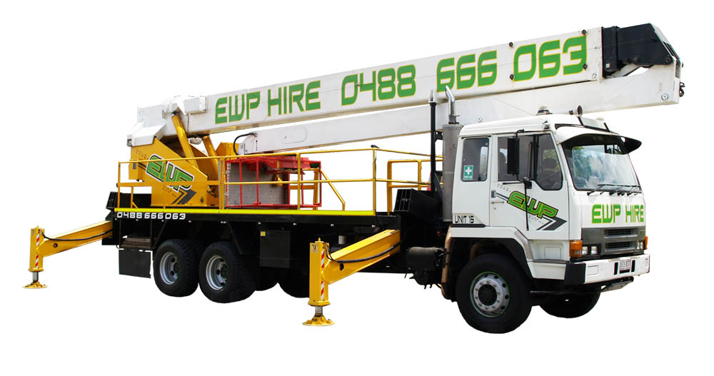 40m EWP Hire | Cherry Picker Hire | EWP Hire Gold Coast | Australia