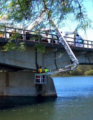 EWP Hire | Cella Underbridge Inspection Unit | Gold Coast